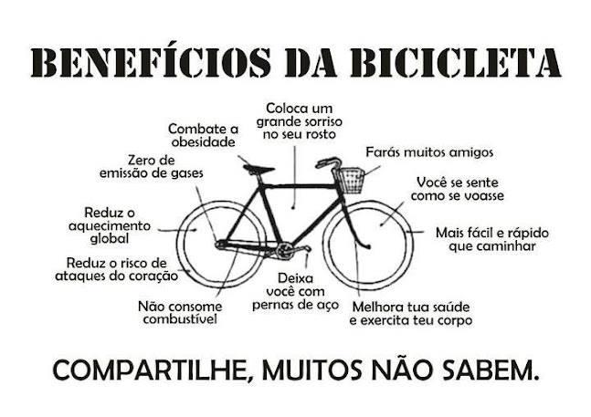 Benefícios da Bicicleta