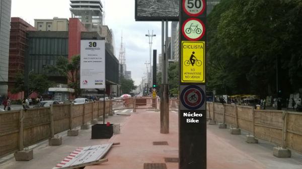 Confirmada a inauguração da Ciclovia na Avenida Paulista para 28/06 (Domingo)