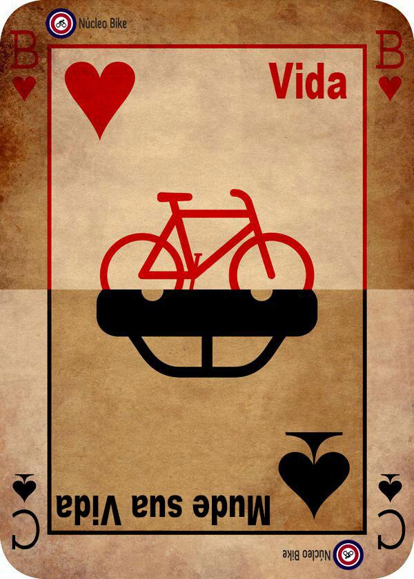 Mude sua vida, vá de bike
