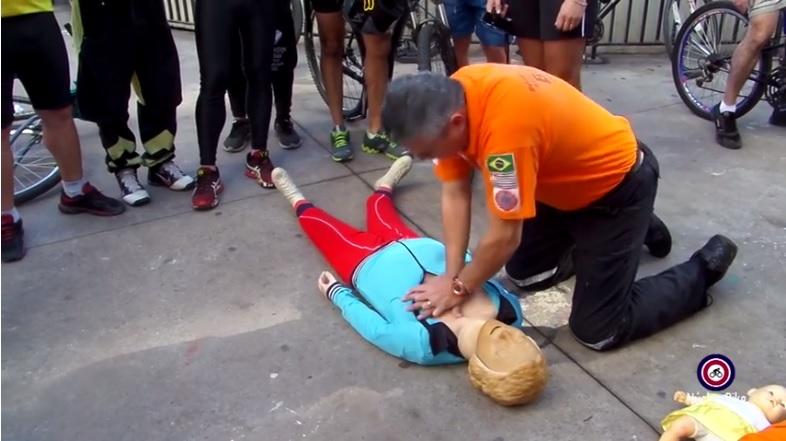 Primeiros socorros para ciclistas, saiba o que fazer em caso de emergência.