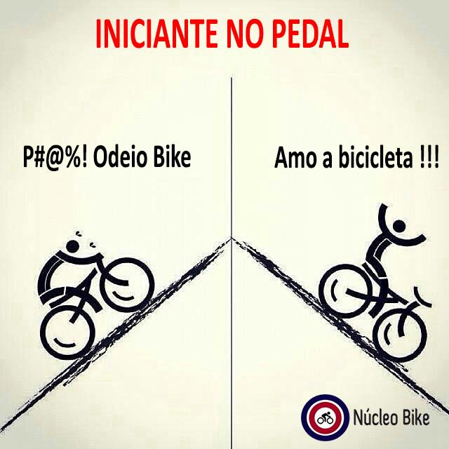 Iniciante no Pedal