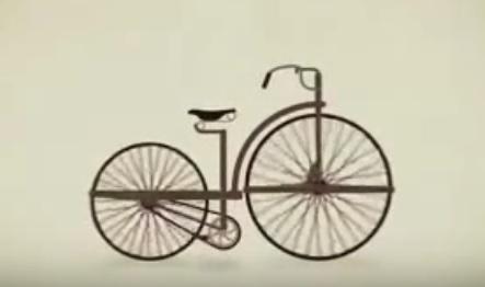 A evolução da bicicleta através dos tempos