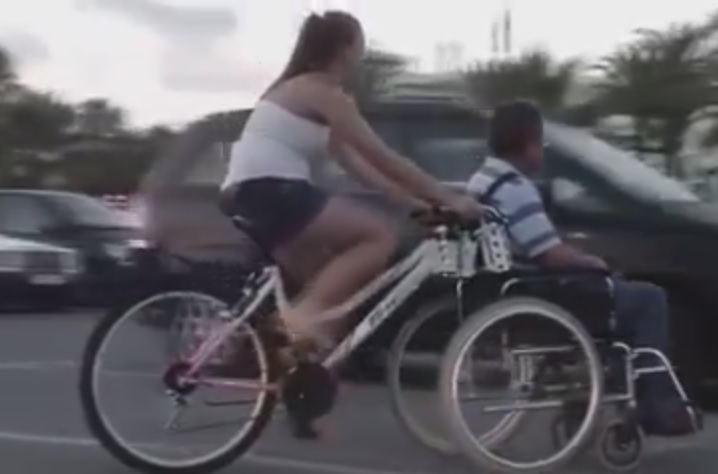 Kit conecta Bicicleta e Cadeira de rodas