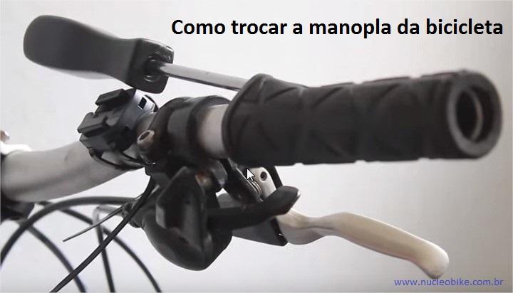 Como trocar Manoplas para Bicicletas