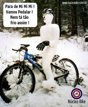 Pedal no frio
